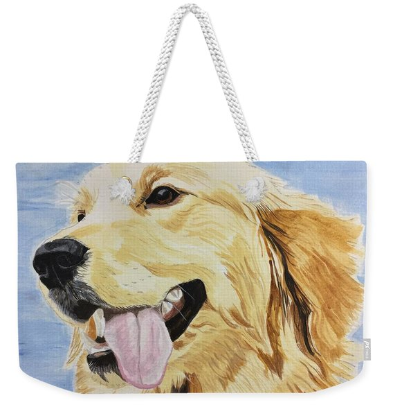 Golden Day Weekender Tote Bag