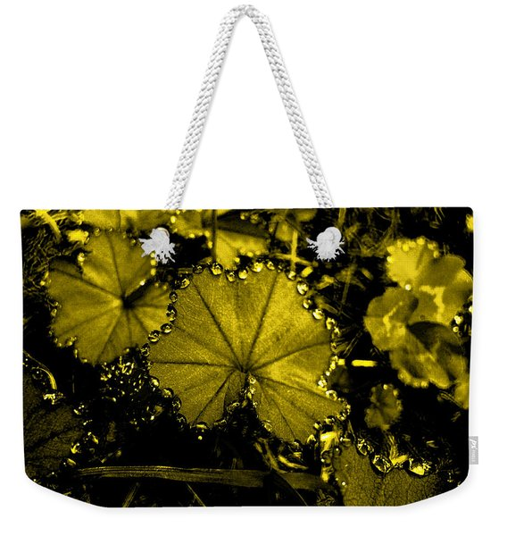 Golden Dew Weekender Tote Bag