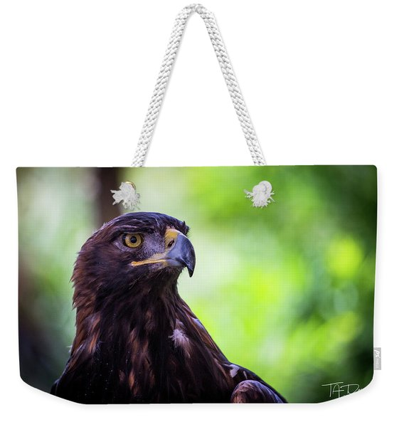 Golden Eagle 2 Weekender Tote Bag