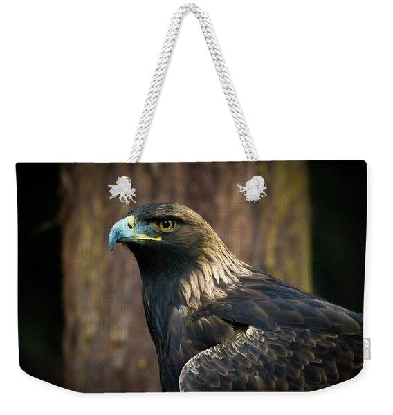 Golden Eagle 5 Weekender Tote Bag