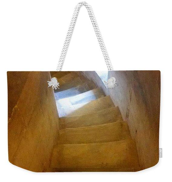 Golden Echo Of Blue Weekender Tote Bag