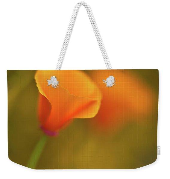 Golden Edges Weekender Tote Bag