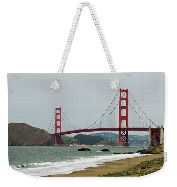 Golden Gate Bridge From Baker Beach Weekender Tote Bag