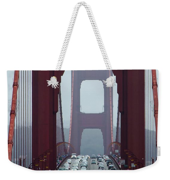 Golden Gate Bridge, San Francisco Weekender Tote Bag