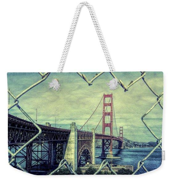 Golden Gate San Francisco Weekender Tote Bag