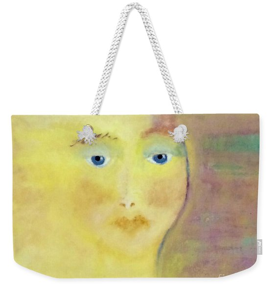 Golden Girl Weekender Tote Bag