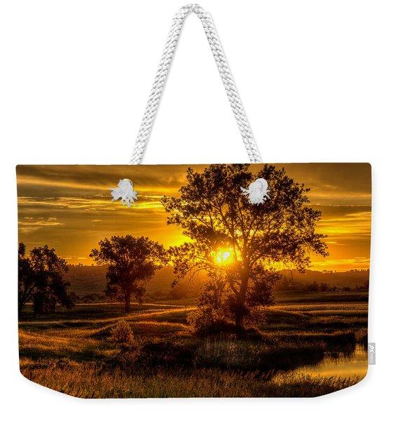 Golden Hour Weekender Tote Bag