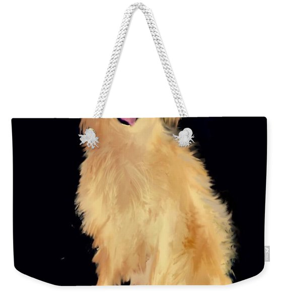 Golden Lab Weekender Tote Bag