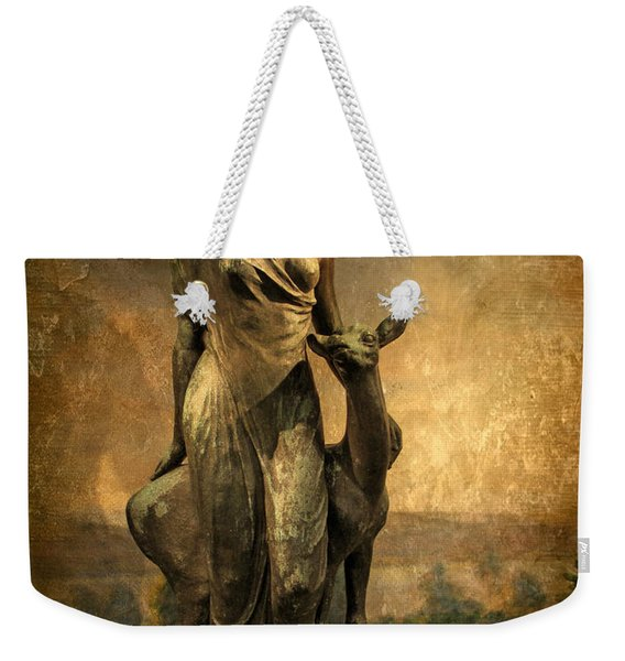 Golden Lady Weekender Tote Bag