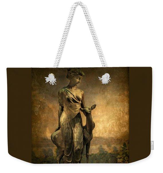 Golden Lady Weekender Tote Bag