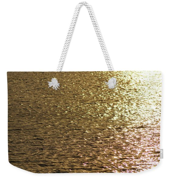 Golden Lake Weekender Tote Bag