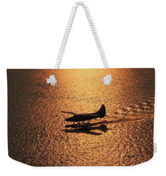 Golden Landing Weekender Tote Bag