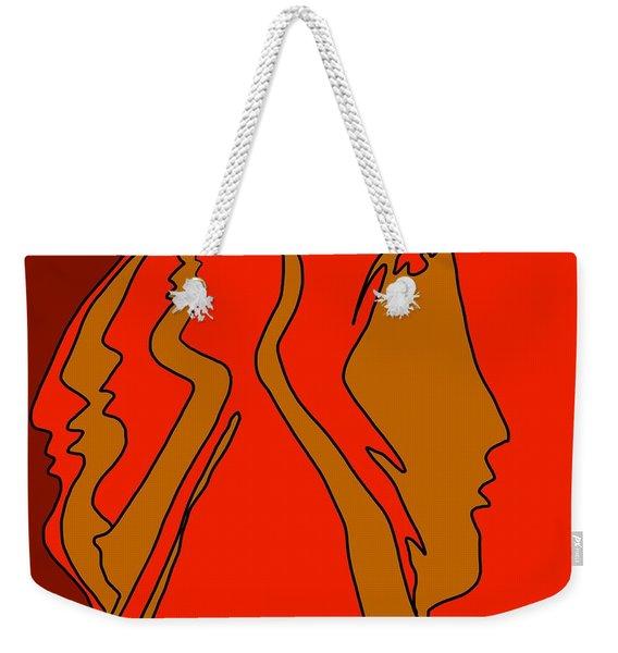Golden Memories Weekender Tote Bag