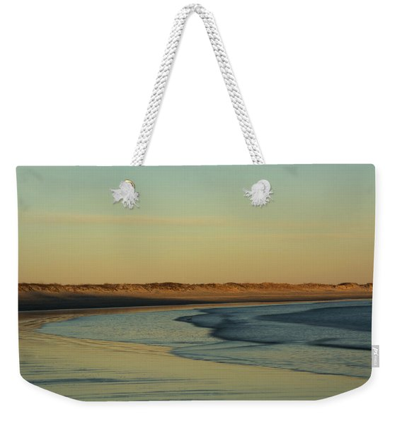 Golden Morning On Rhode Island Coast Weekender Tote Bag