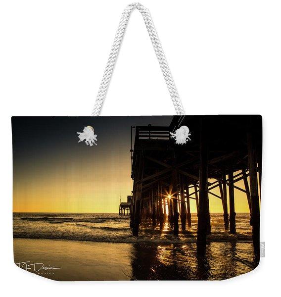 Golden Pier  Weekender Tote Bag