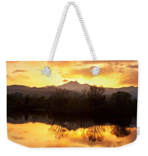 Golden Ponds Longmont Colorado Weekender Tote Bag
