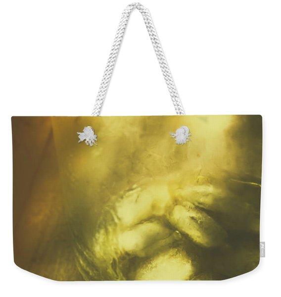 Golden Saloon Afternoon Weekender Tote Bag