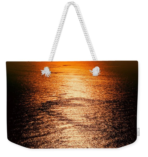 Golden Sea In Alanya Weekender Tote Bag