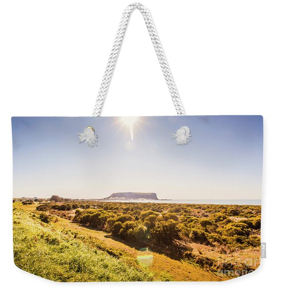 Golden Stanley Landscape Weekender Tote Bag