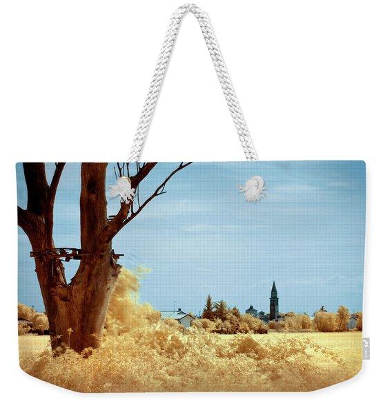 Golden Summer Weekender Tote Bag