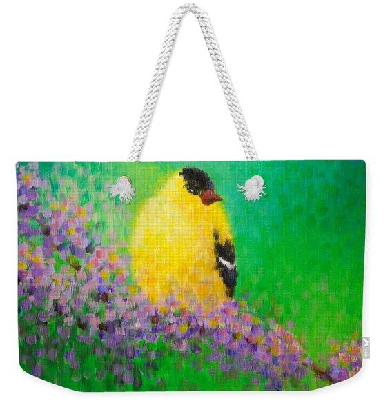 Goldfinch II Weekender Tote Bag