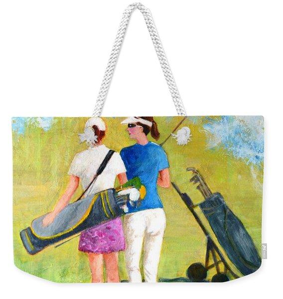 Golf Buddies #1 Weekender Tote Bag