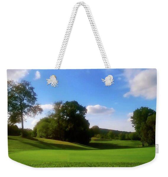 Golf Course Landscape Weekender Tote Bag