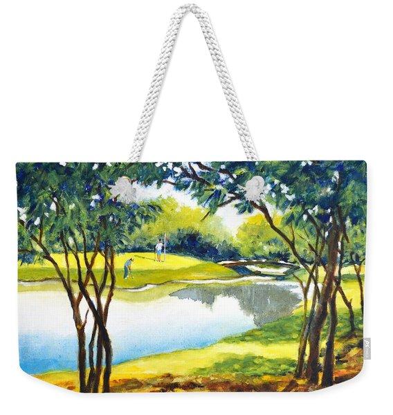 Golf Haven Weekender Tote Bag