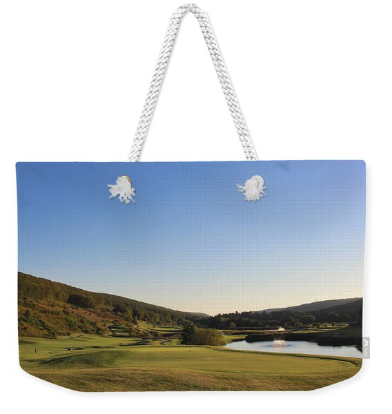 Golf - Natural Curves Weekender Tote Bag