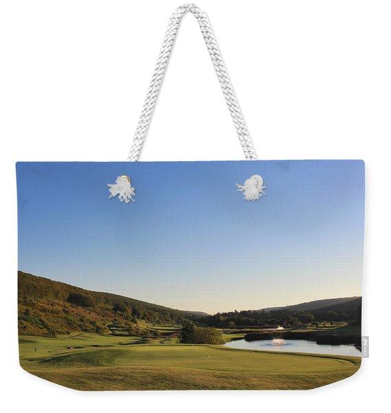 Golf - Natural Curves Weekender Tote Bag
