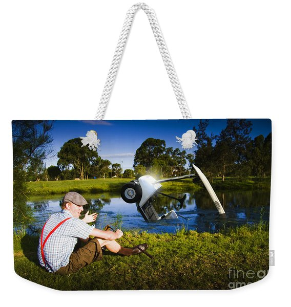 Golf Problem Weekender Tote Bag