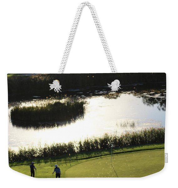 Golf - Puttering Around Weekender Tote Bag