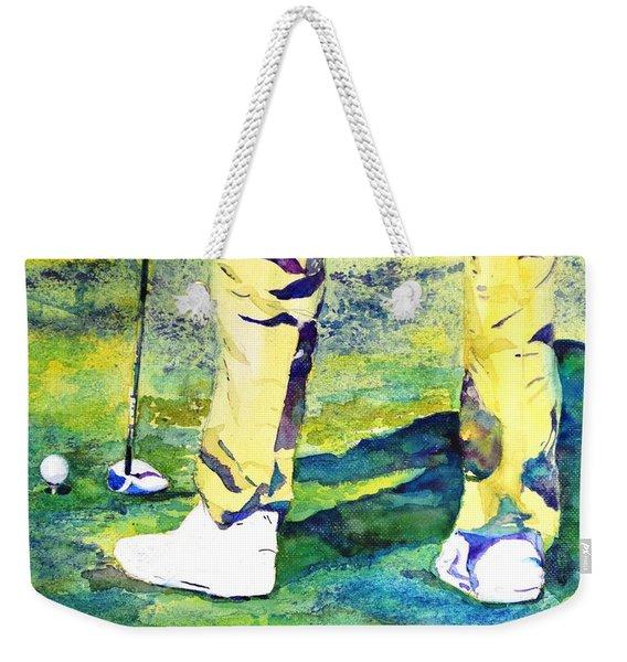 Golf Series - High Hopes Weekender Tote Bag