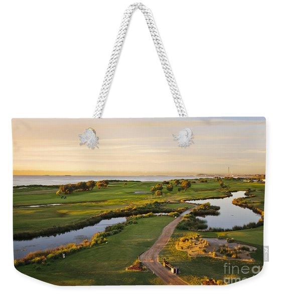 Golfing At The Gong II Weekender Tote Bag