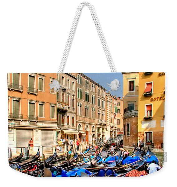 Gondolas In The Square Weekender Tote Bag