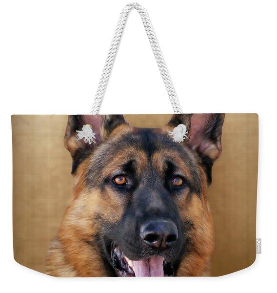Good Boy Weekender Tote Bag