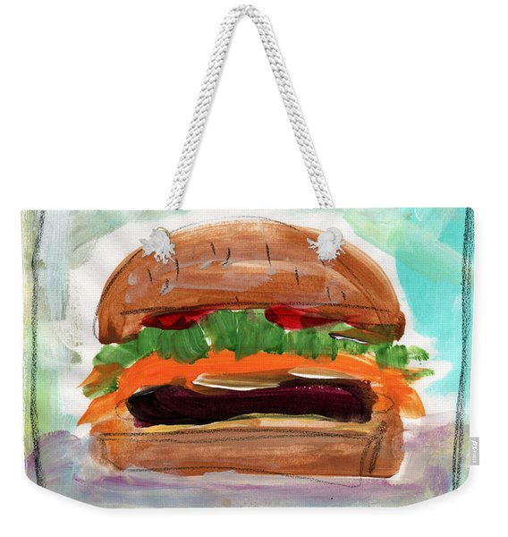 Good Burger Weekender Tote Bag