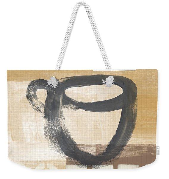 Good Days Start With Coffee- Art By Linda Woods Weekender Tote Bag