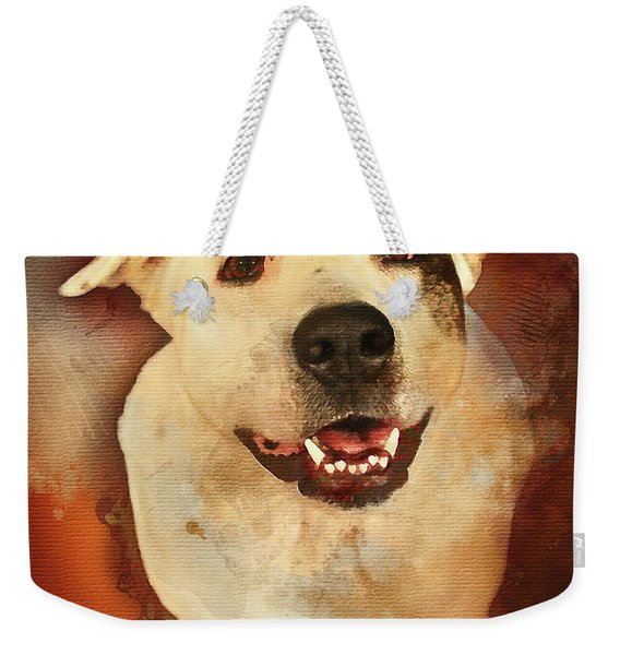 Good Dog Weekender Tote Bag