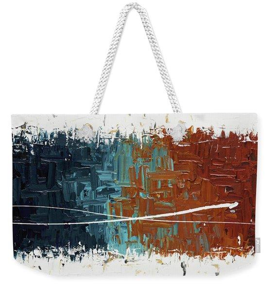 Good Feeling - Abstract Art Weekender Tote Bag