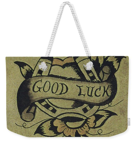 Good Luck Weekender Tote Bag