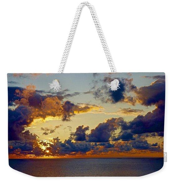 Good Morning Ac Weekender Tote Bag