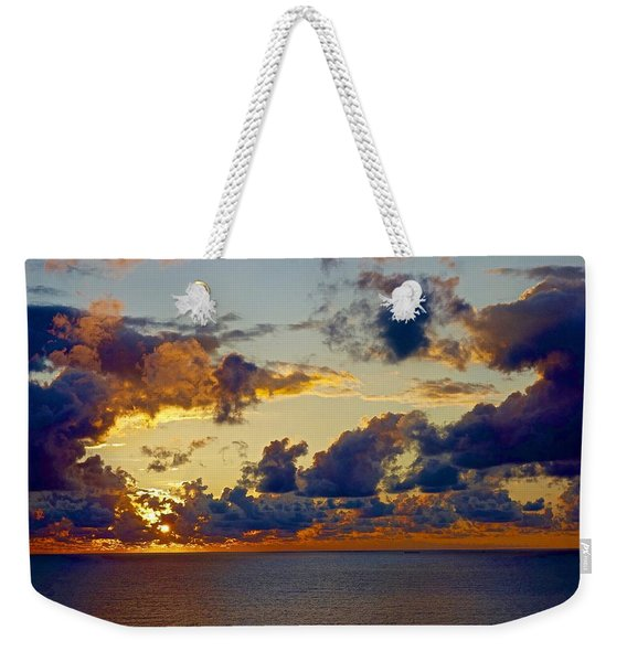 Good Morning Ac Weekender Tote Bag