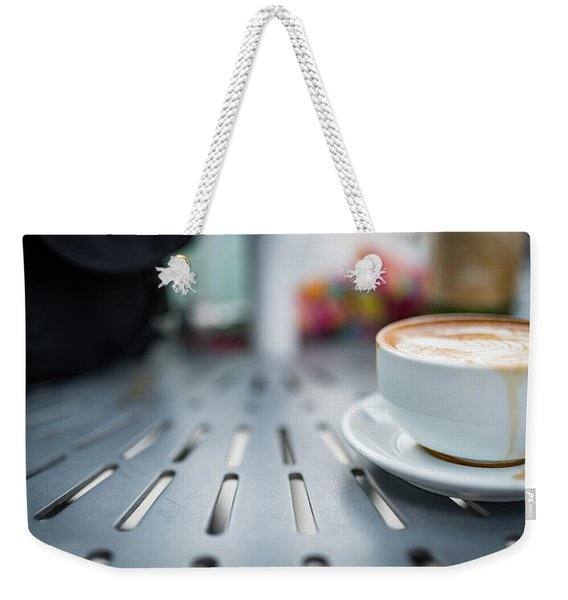 Weekender Tote Bag featuring the photograph Good Morning by Break The Silhouette