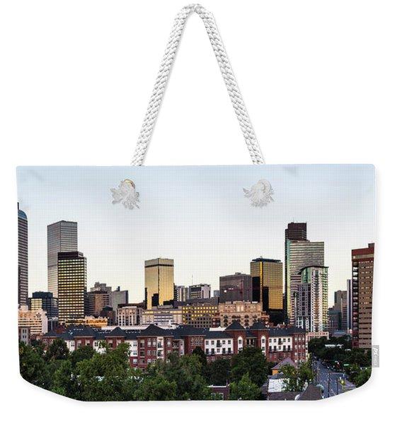 Good Morning Denver Weekender Tote Bag