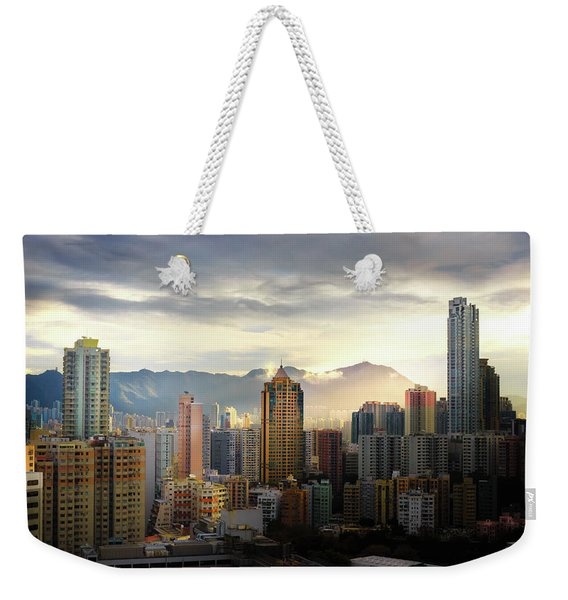 Good Morning, Hong Kong Weekender Tote Bag