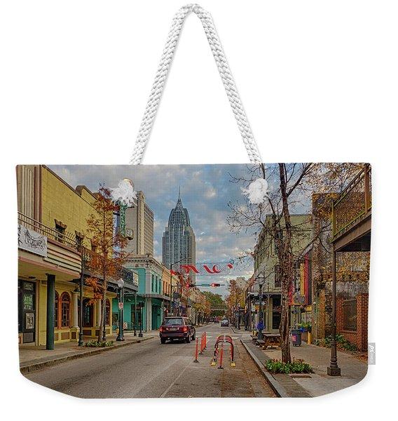 Good Morning Mobile 2 Weekender Tote Bag