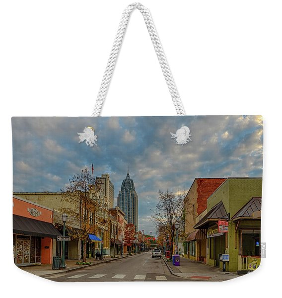 Good Morning Mobile 3 Weekender Tote Bag