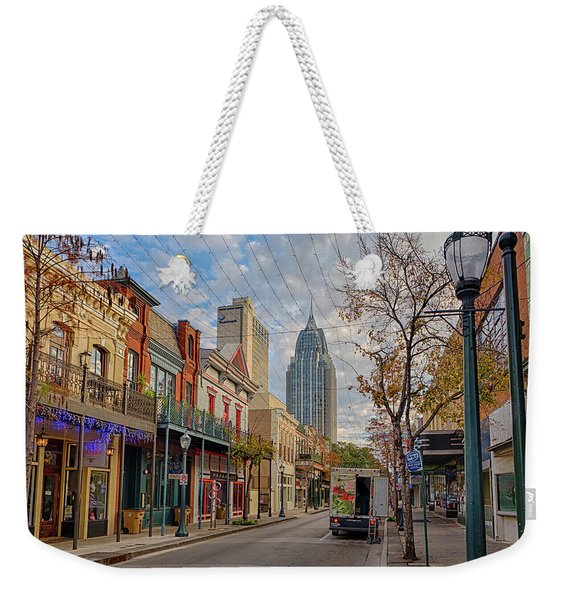 Good Morning Mobile Weekender Tote Bag