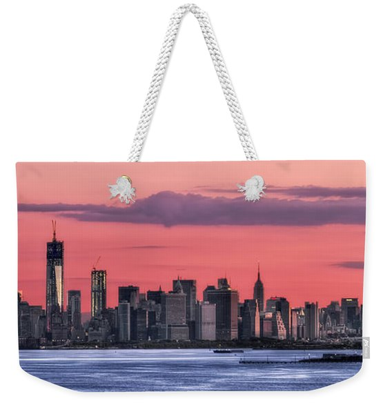 Good Morning New York Weekender Tote Bag